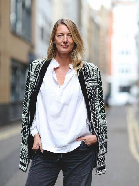 <p>Rebecca Lowthorpe, Assistant Editor,H&M x Balmain jacket, £299</p>