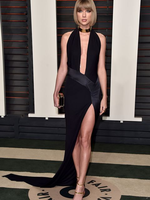 Taylor Swift at the Vanity Fair Oscar's party in LA, February 2016.
