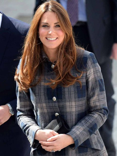<p>The Duchess of Cambridge wearing Moloh in Glasgow today</p>