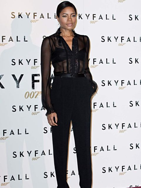<p>Naomie Harris in Dolce &amp&#x3B; Gabbana at the Skyfall photocall in Rome</p>