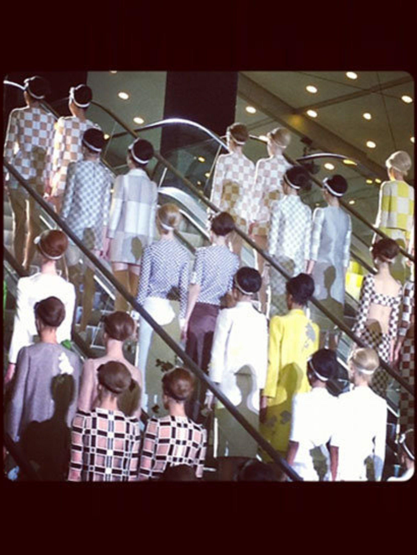 <p>Louis Vuitton Spring Summer 2013 </p>