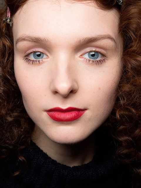 """<p><strong><a href=""""http://www.elleuk.com/catwalk/blugirl/spring-summer-2013"""">Blugirl </a></strong></p>  <p>The look: Last Tango in Paris</p>  <p>Make-up artist: <a href=""""http://www.elleuk.com/beauty/the-beauty-experts-you-need-to-know-charlotte-tilbury-b"""