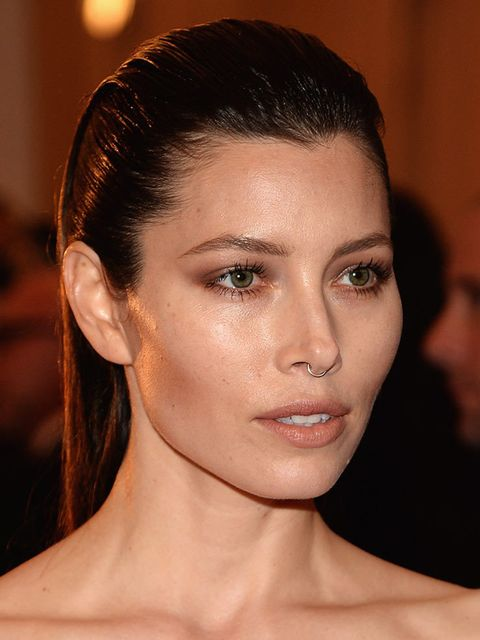 "<p>Who: <a href=""http://www.elleuk.com/tags/jessica-biel"">Jessica Biel</a></p>  <p>What: Septum piercing</p>  <p>Rebel factor: It's not as permanent as a tattoo and if you decide to take it out for good it doesn't leave much of a mark, but it's still enou"