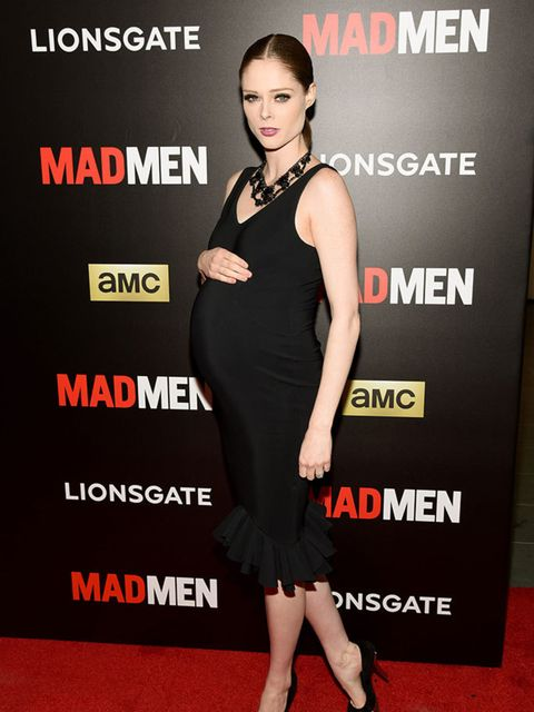 Coco Rocha attends a 'Man Men' screening in New York, March 2015.