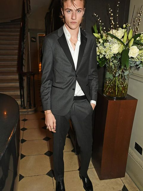 Lucky Blue Smith attends the Tommy Hilfiger party during London Collections A/W 16, January 2016.