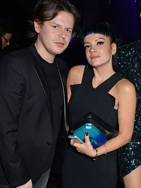 <p>Christopher Kane and Lily Allen attend the ELLE Style Awards after party.</p>