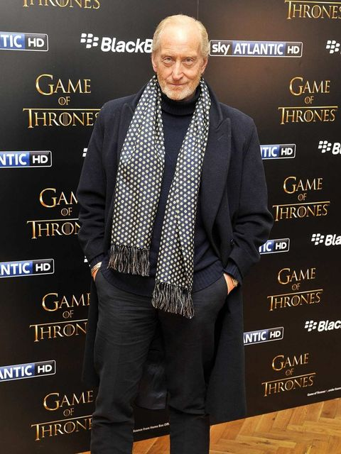 <p>Charles Dance at the Game of Thrones season 3 screening in London</p>