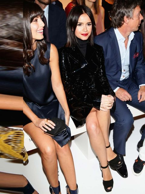 """<p>Miroslava Duma attends the Salvatore Ferragamo, Milan Fashion Week, September 2013. </p><p><a href=""""http://www.elleuk.com/star-style/red-carpet/london-fashion-week-the-front-row-celebrities-out-and-about-and-at-the-shows"""">Front row at London Fashion We"""