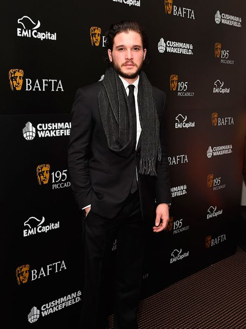 Kit Harington at the BAFTA Fundraising Gala Dinner and Auction in London, February 2015.