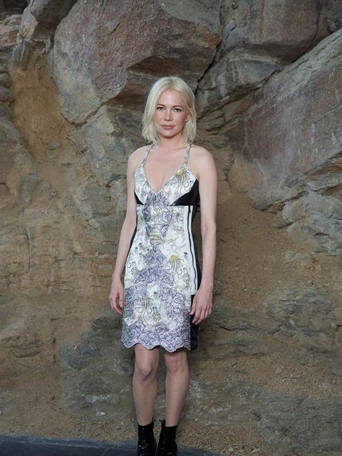 Michelle Williams at the Louis Vuitton Cruise 2016 show in Palm Springs, May 2015.