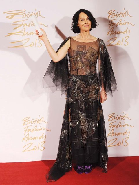 "<p><strong>Isabella Blow Award for Fashion Creator </strong></p><p>Lady Amanda Harlech</p><p><a href=""http://www.elleuk.com/star-style/red-carpet/british-fashion-awards-designers-celebrities-kate-moss-rita-ora-daisy-lowe"">British Fashion Awards arrivals</"