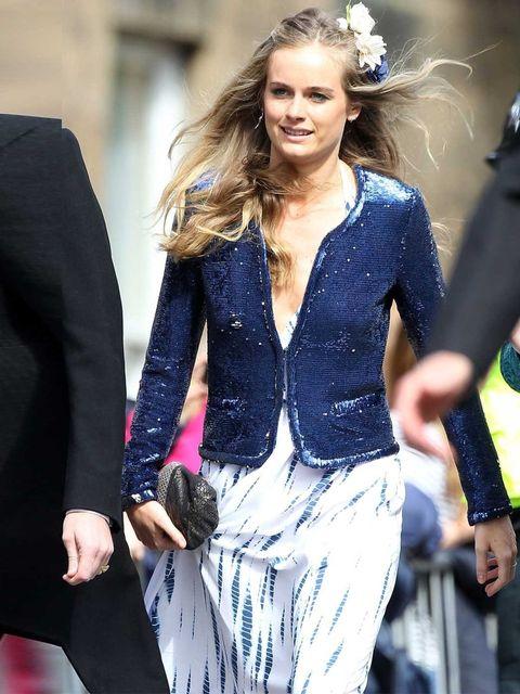 "<p>Cressida Bonas attends the wedding of Melissa Percy and Thomas van Straubenzee, June 2013.</p><p><em><a href=""http://www.elleuk.com/star-style/celebrity-style-files"">More celebrity style</a></em></p><p><em><a href=""http://www.elleuk.com/star-style/cele"