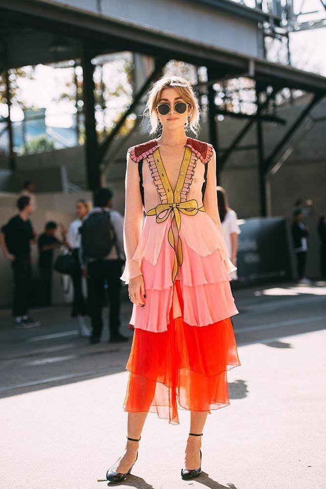 <p>Carmen Hamilton</p><p>Gucci dress</p>
