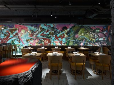 Art restaurant london