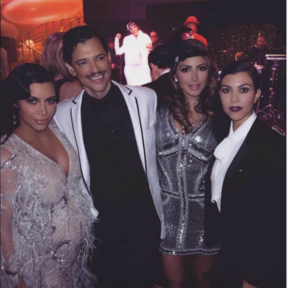 Kris Jenner\'s 1920\'s Themed 60th Birthday Party
