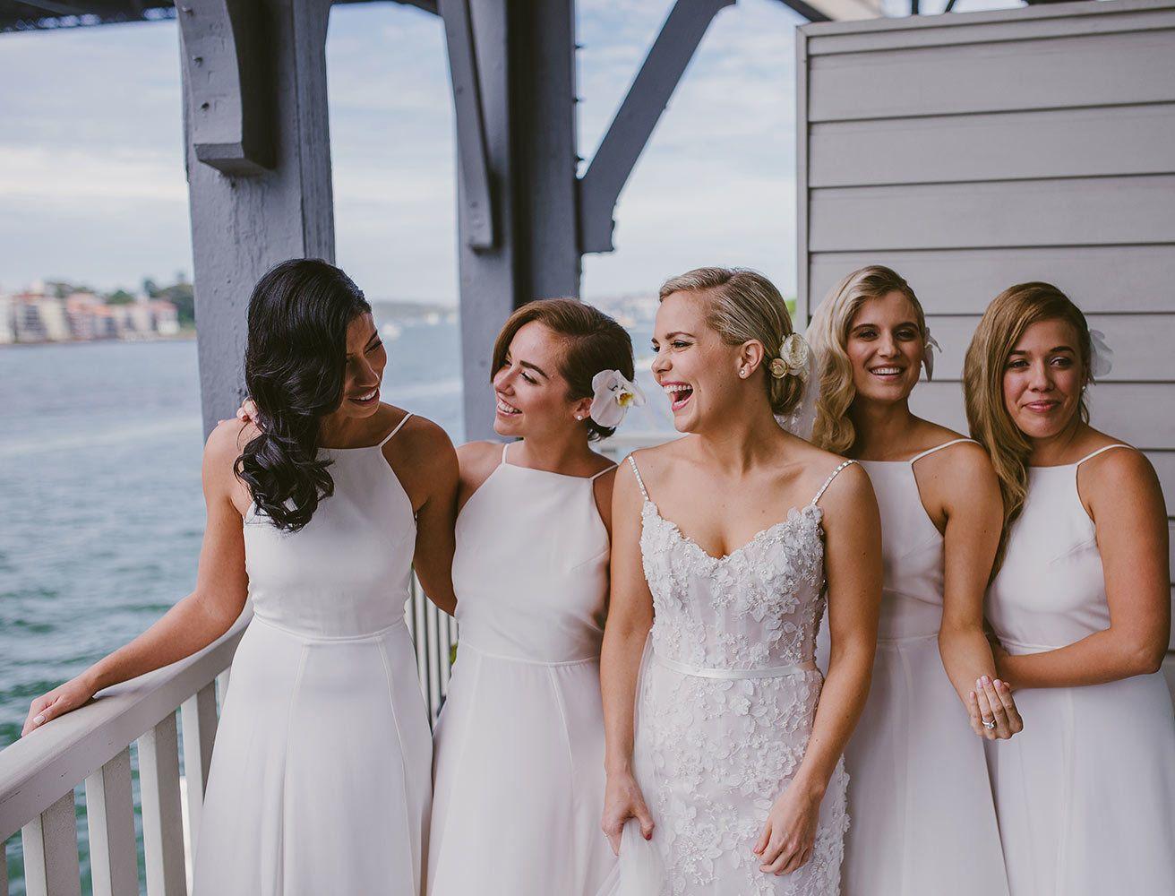 Elle Wedding Rachelle James