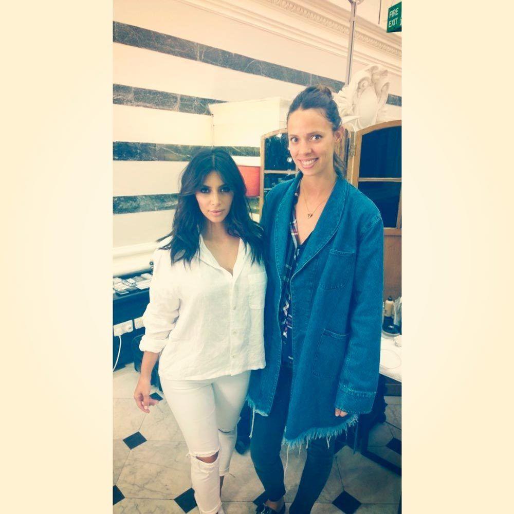 Look - Kim elle kardashian uk january video