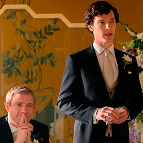 How To Throw A Sherlock Wedding Elle Uk