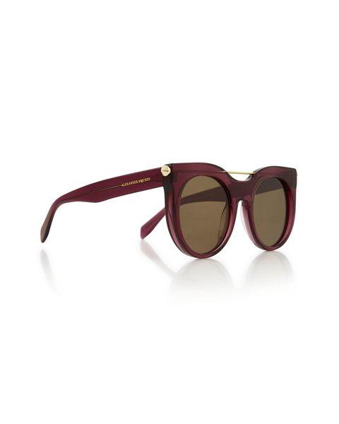 Round sunglasses, £265 | ELLE UK