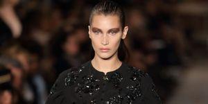 Bella Hadid Dior Make Up