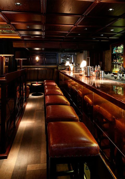 "<p>THE BAR</p>  <p><a href=""http://www.socialeatinghouse.com/"" target=""_blank"">The Blind Pig, Soho</a></p>  <p>This cosy speakeasy-style bar is dangerously near ELLE towers. Climb the stairs above Jason Atherton's brilliant<a href=""http://www.socialeating"