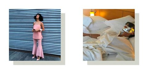 Celebrity Instagrams May 2016 Solange Knowles and Victoria Beckham | ELLE UK