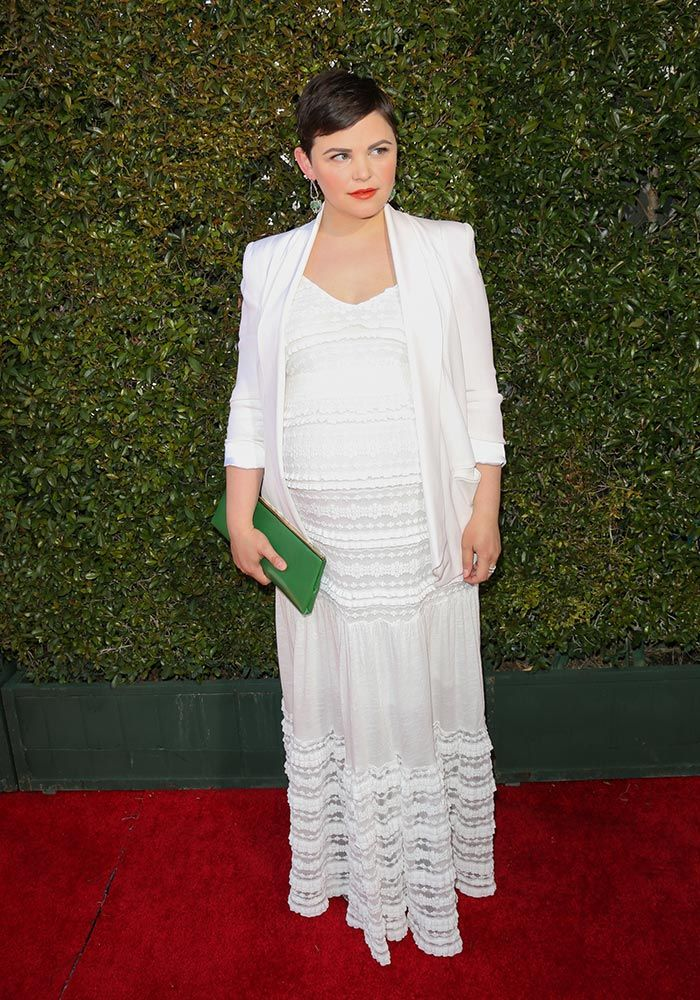 890a9becbc344 Stylish Pregnant Celebrities: Maternity Fashion On The Red Carpet