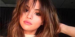 Selena Gomez Fringe   ELLE UK
