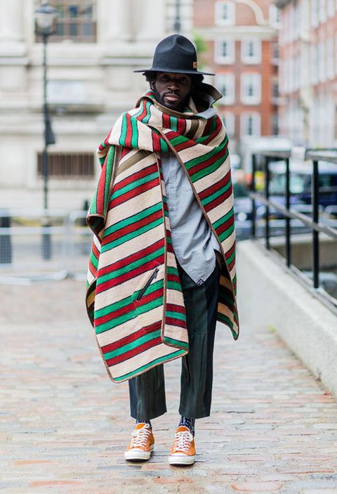 Charley Van Purpz London Collections Men Street Style | ELLE UK
