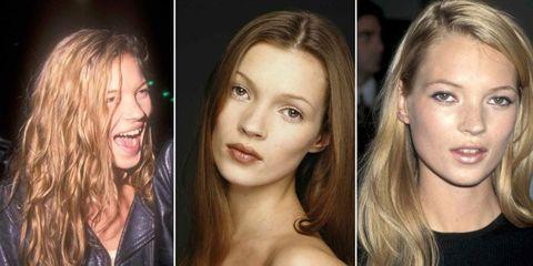 Kate Moss Hair evolution | ELLE UK