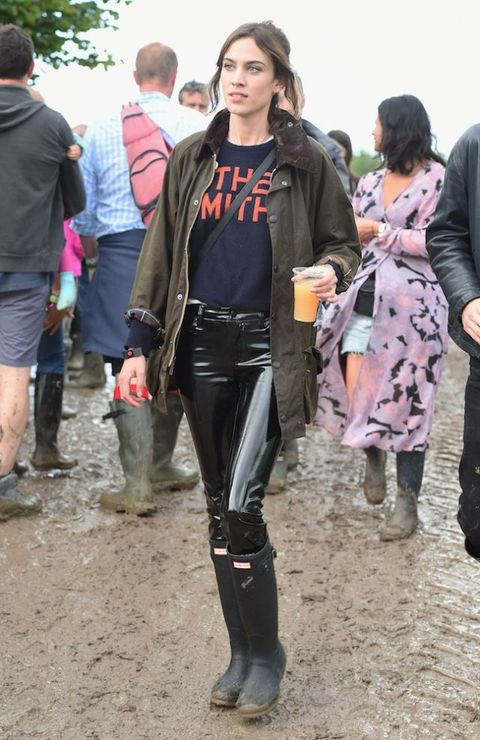 Alexa Chung Glastonbury Festival 2016 | ELLE UK