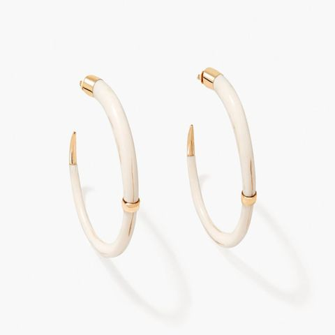 aurelie bidermann hoop earrings