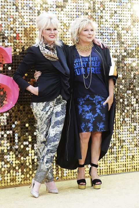 Absolutely Fabulous Premiere 2016 with Jennifer Saunders and Joanna Lumley
