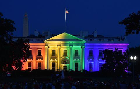 White House for Gay Pride   ELLE UK