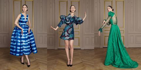 giles deacon on his couture debut