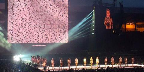 Beyonce in Glasgow | ELLE UK