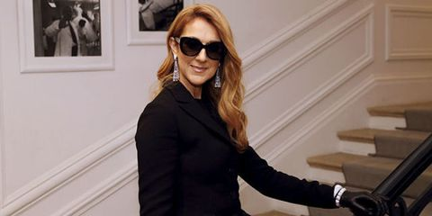 Celine Dion at Dior Haute Couture