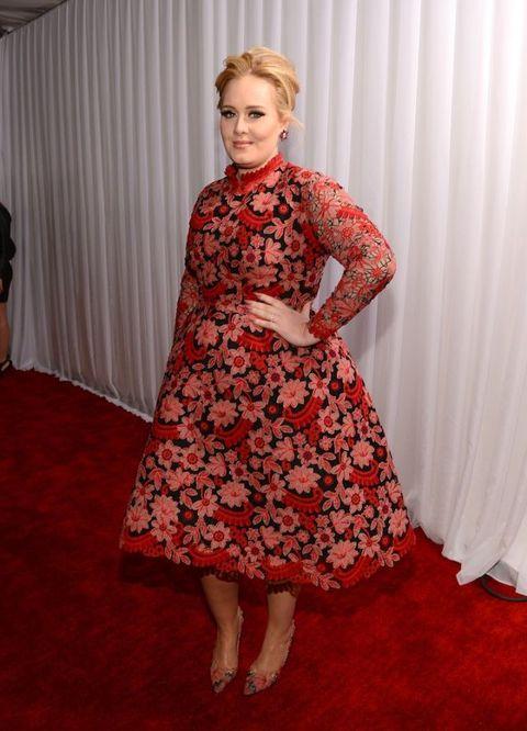 Adele in Valentino | ELLE UK