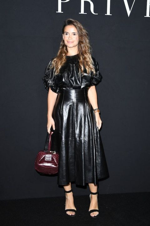 Miroslava Duma At the Armani Prive AW16/17 show | ELLE UK