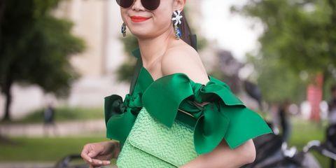 Haute Couture Street Style Details | ELLE UK