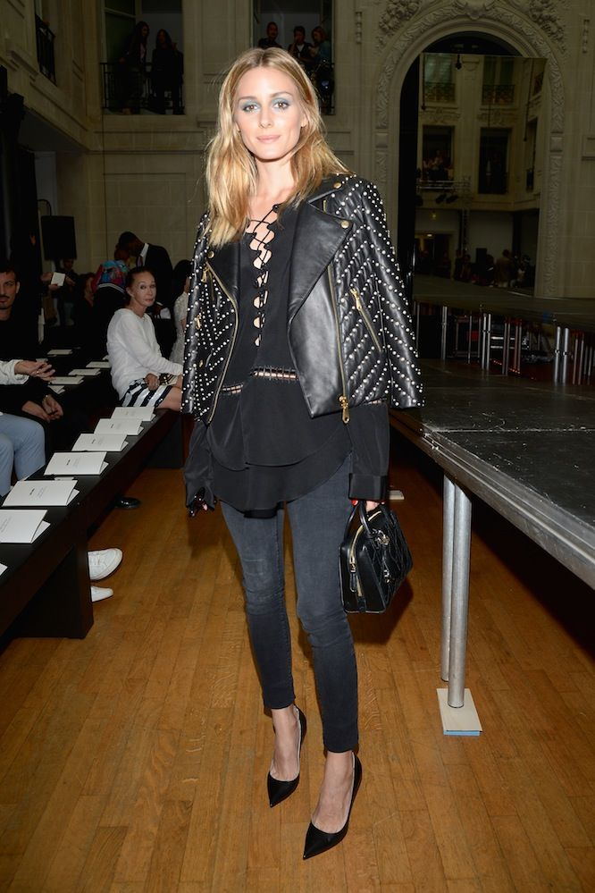 Olivia Palermo At Alexander Vauthier's Haute Couture AW16/17 show