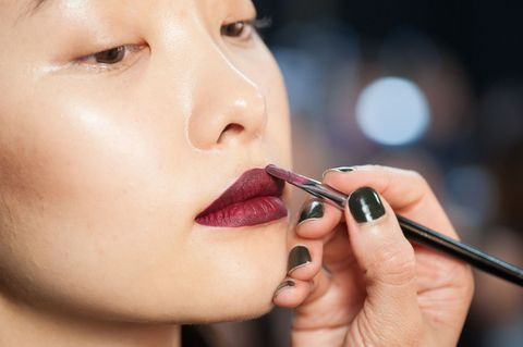 Lipstick application. Getty Images. For cosmetics companies, animal testing has been banned in the UK ...