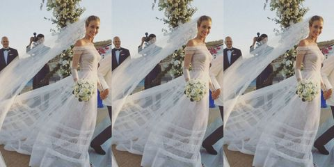 Ana Beatriz Barros Married In The Most Beautiful Valentino Gown (And ...