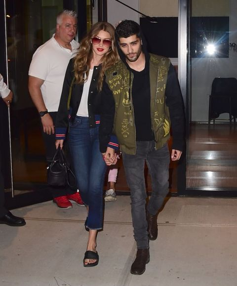 Zayn Malik and Gigi Hadid July 2016 | ELLE UK