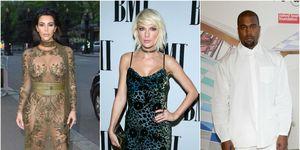 Kim Kardashian, Taylor  Swift, Kanye West | ELLE UK