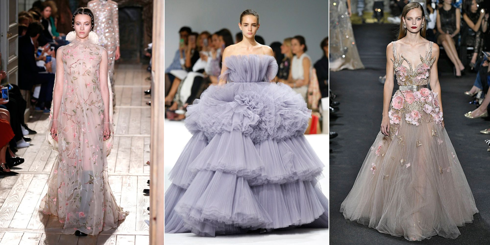 Wedding Dress Inspiration From Haute Couture Fashion Week AW16