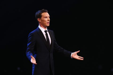 Benedict Cumberbatch reading letter by Tom Hanks