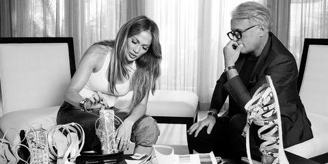 Jennifer Lopez Guiseppe Zanotti