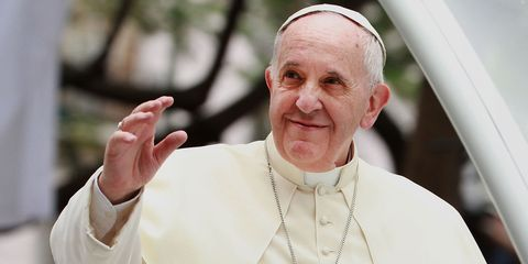 Pope Francis Visits Philippines and waves   ELLE UK