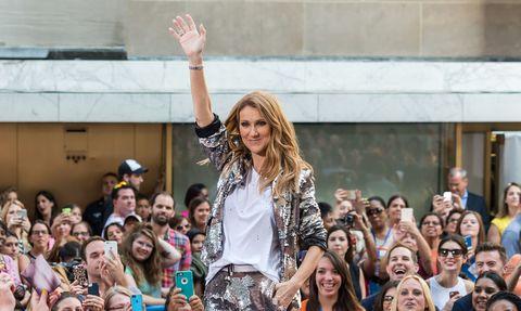 Celine Dion Post's Fan's Rendition | Elle July 2016